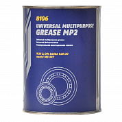 MANNOL Universal Multi-MoS2 Grease EP-2 /Смазка 230 гр.