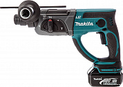 Перфоратор аккум. DHR 202 RF (SDS-plus, 18.0 В, 1 акк. х 3.0 А/ч , 1.9 Дж, чем.) MAKITA